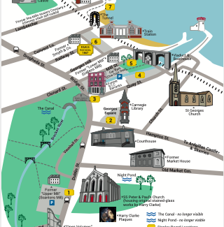 map of Balbriggan heritage triail