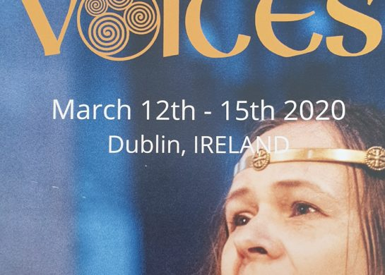 Festival of Singing, Story & Spoken Word 12 – 15 March 2020